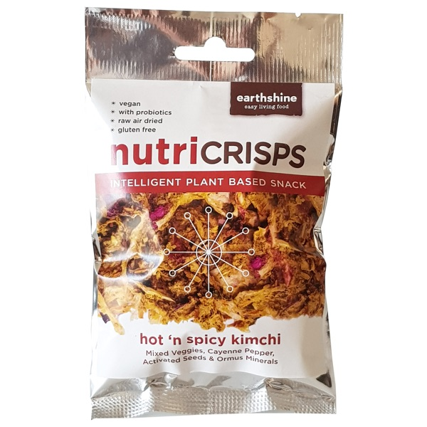 Nutricrisps hot and spicy PACKSHOT white