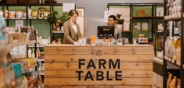 cropped Farm Table organic grocer banner