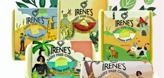 cropped Irenes Gourmet plant based food banner